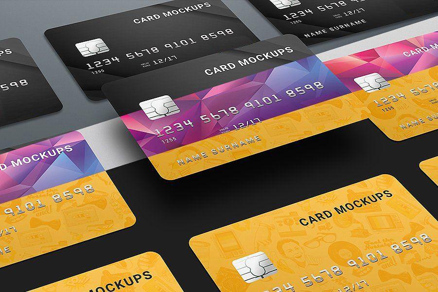 7 Credit Card Mock Ups Bank Design Mockup Free Free Psd Mockups Templates Psd Mockup Template