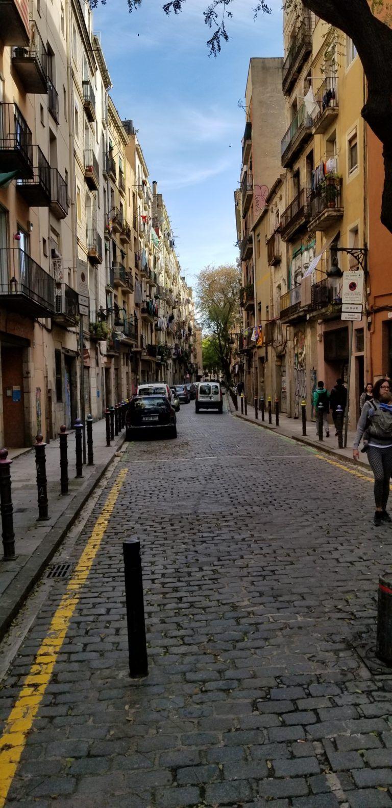 Street In Born Barcelona Street Street View