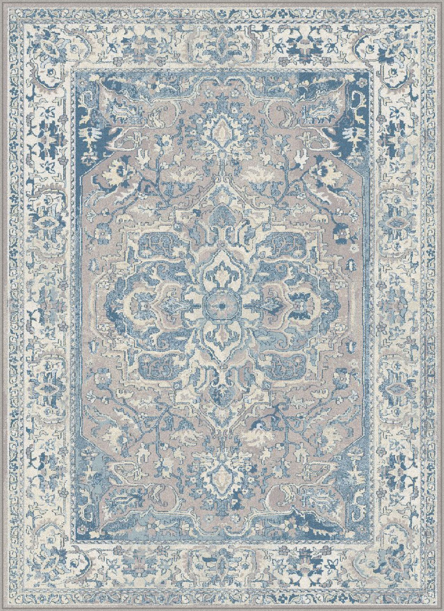 Sea teal blue area rug