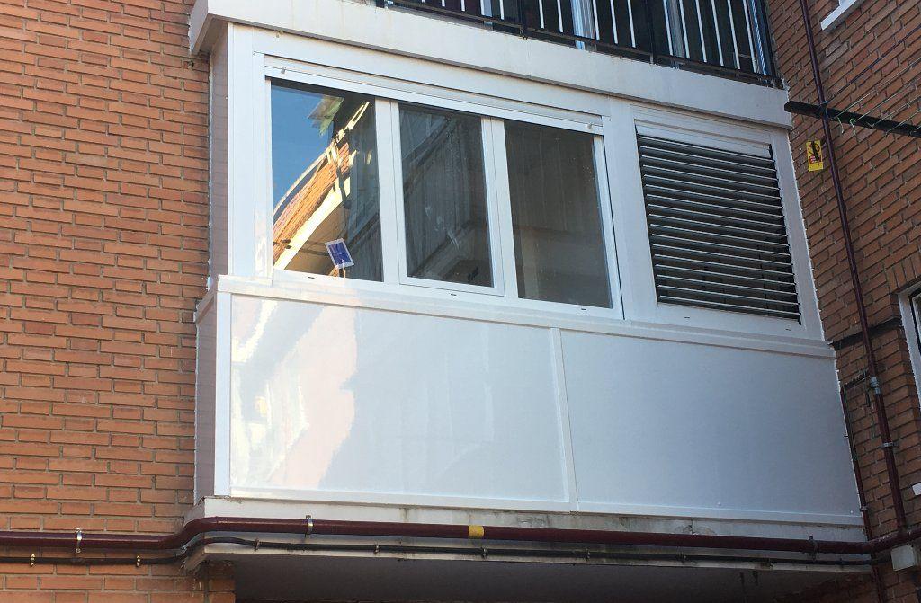 Terraza Cerrada En Aluminio Con Cristal Doble