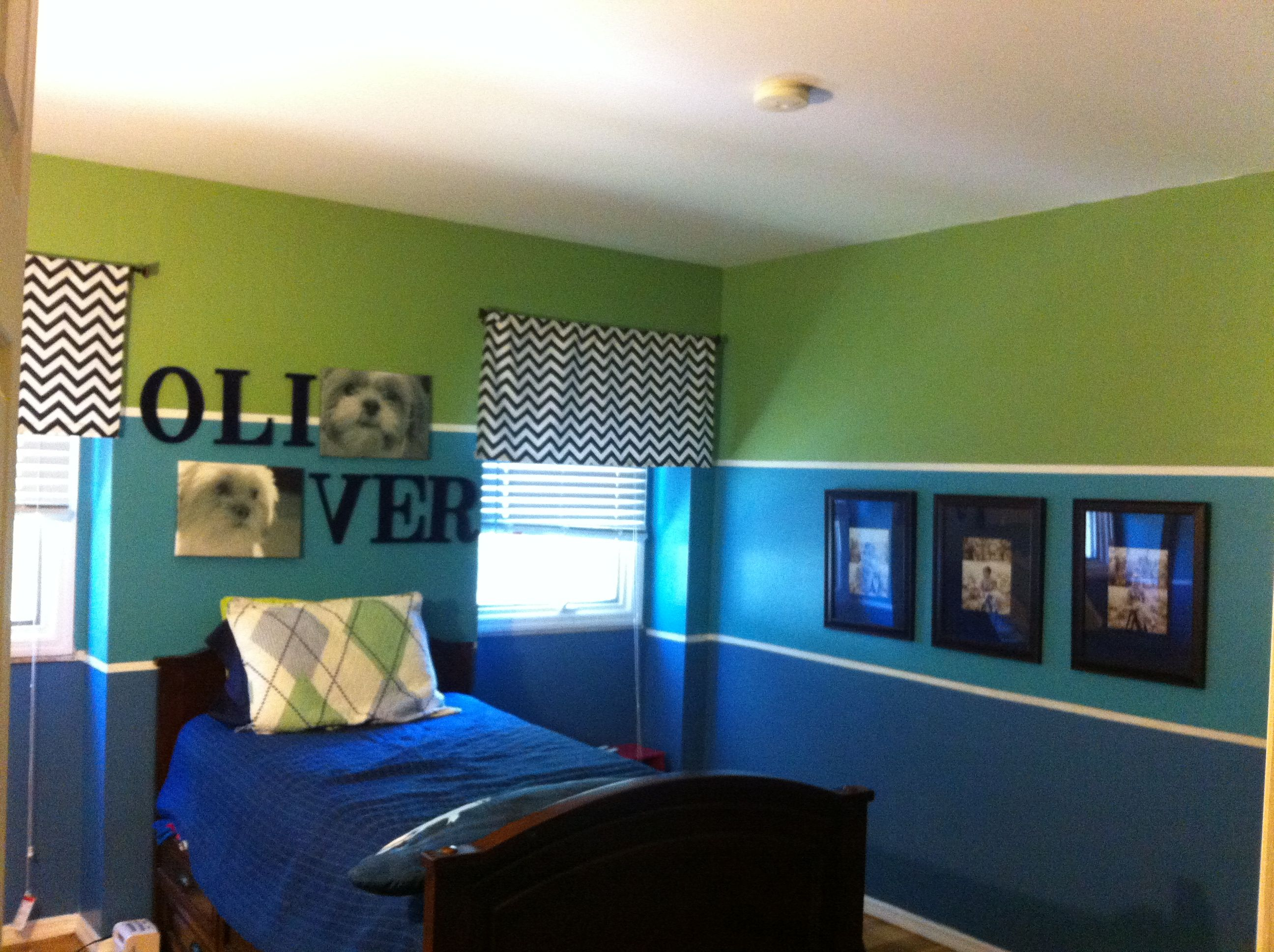 Little Boys Bedroom I Like The Walls But I Wonder If I M That