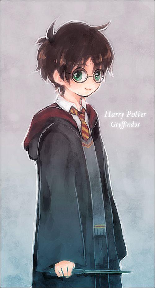Chibi Harry Potter Harry Potter Pinterest Harry Potter Anime