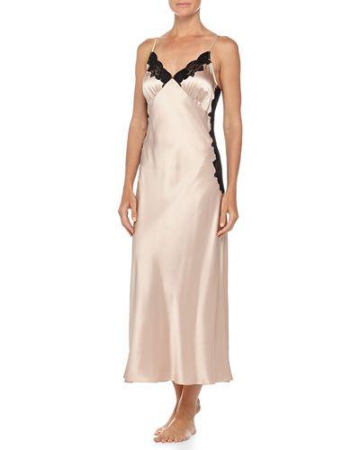 Neiman Marcus silk nightgown