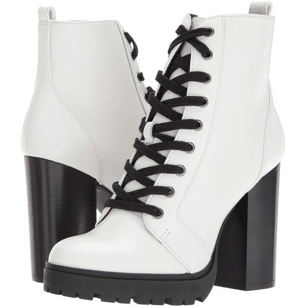 Steve Madden Laurie (White Leather