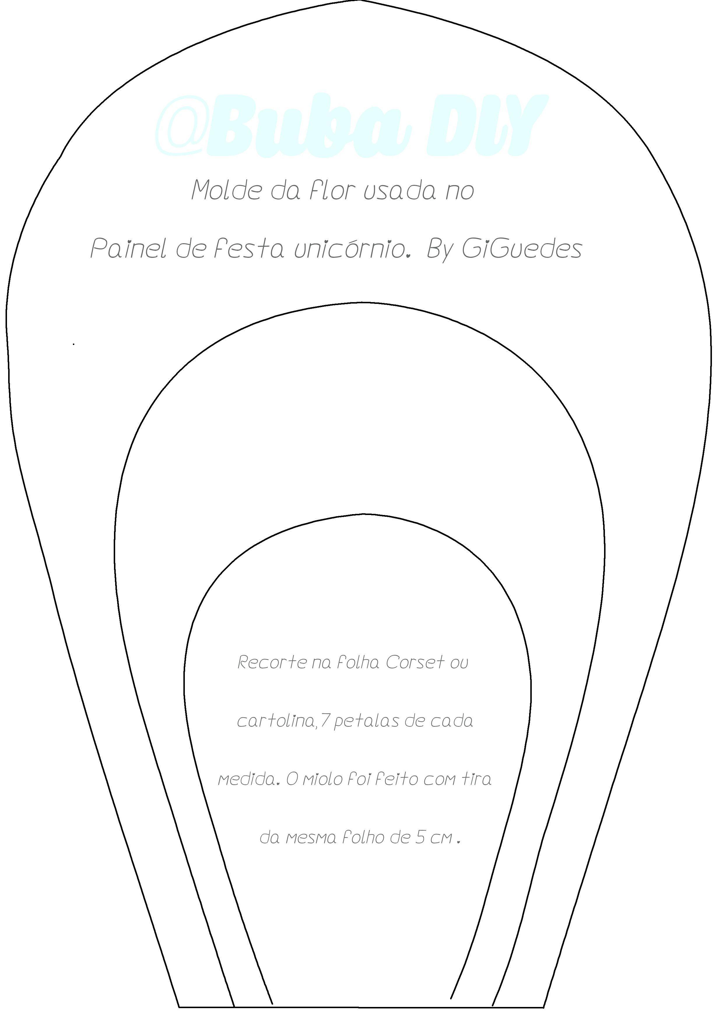Resultado De Imagen Para Flores Gigantes Moldes Ideas La Cual