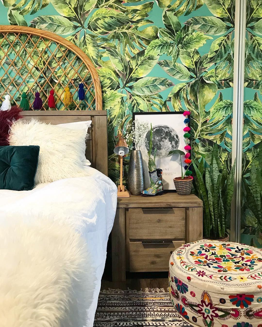 Amazon Rainforest removable wallpaper Flower mural