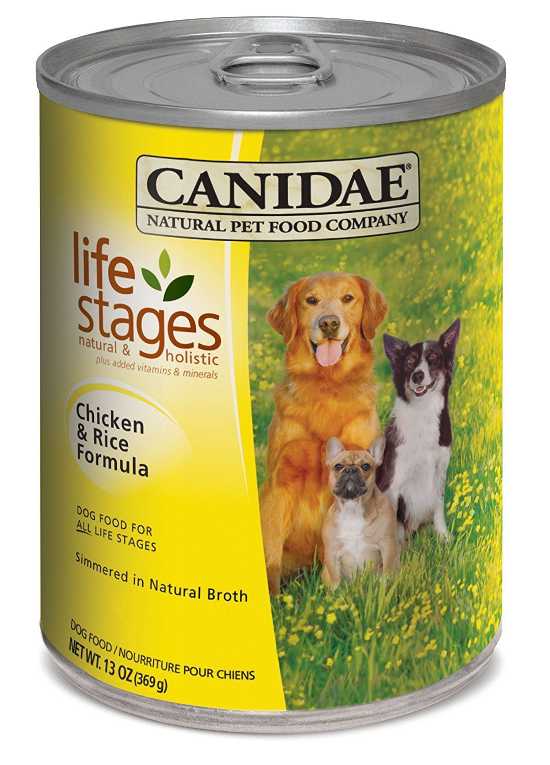 Canidae Life Stages Dog Food Chicken and Rice 13 oz