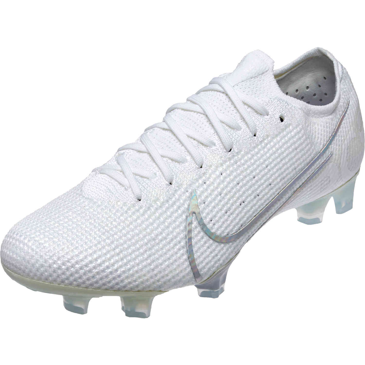 Nike Mercurial Vapor 13 Elite Fg Nuovo White Soccerpro Cool Football Boots Adidas Soccer Shoes Soccer Cleats