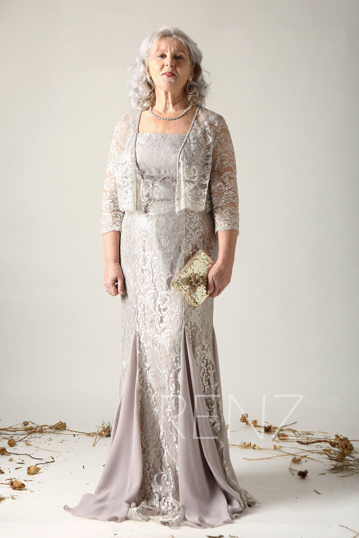 43++ Taupe wedding dress long sleeve info