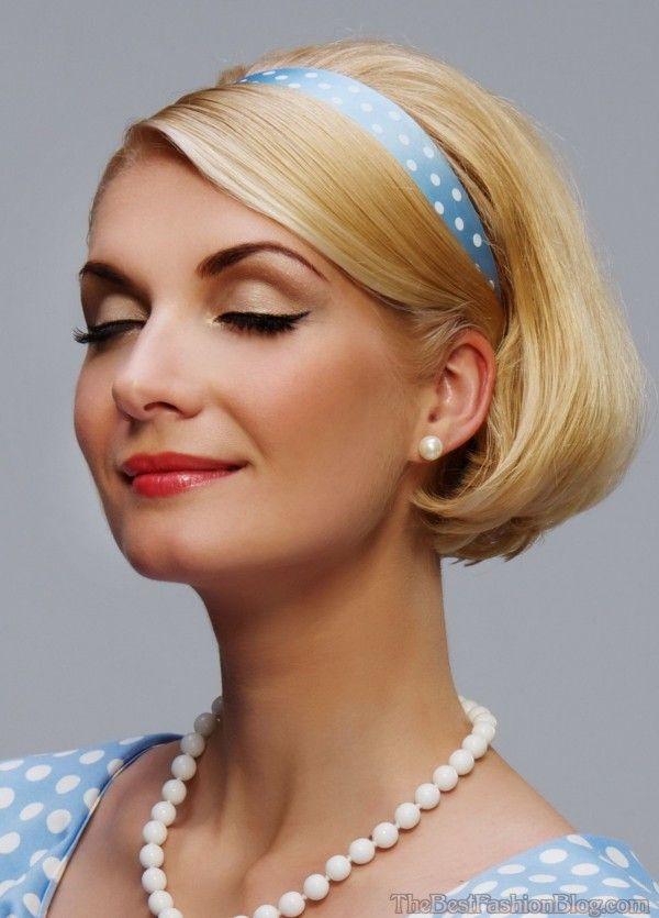 21 Splendid Retro Chic Hairstyles You Must Love | Vintage hairstyles ...
