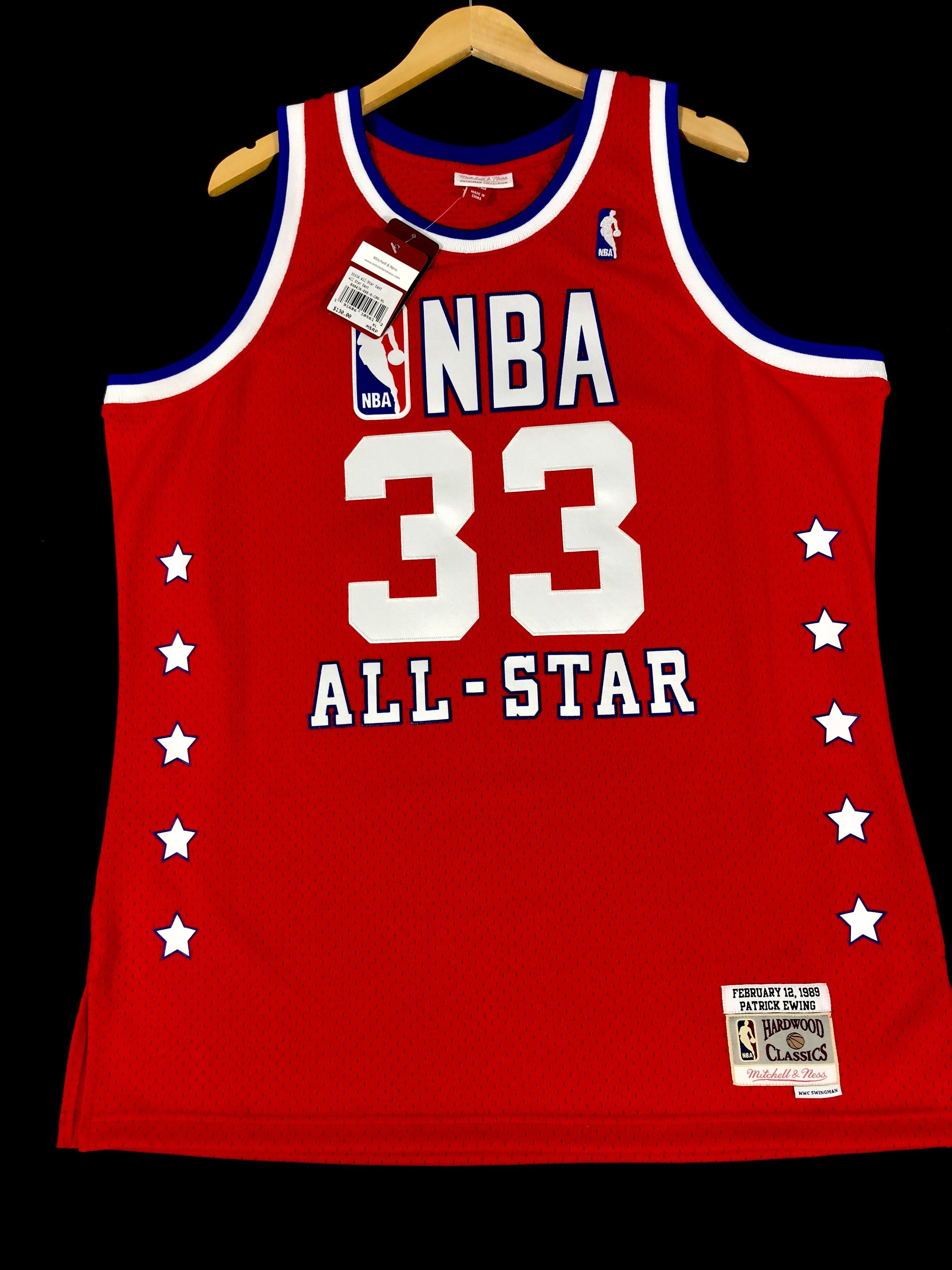 d453e615c Patrick Ewing Knicks All Star Mitchell   Ness NBA Jersey XL ...