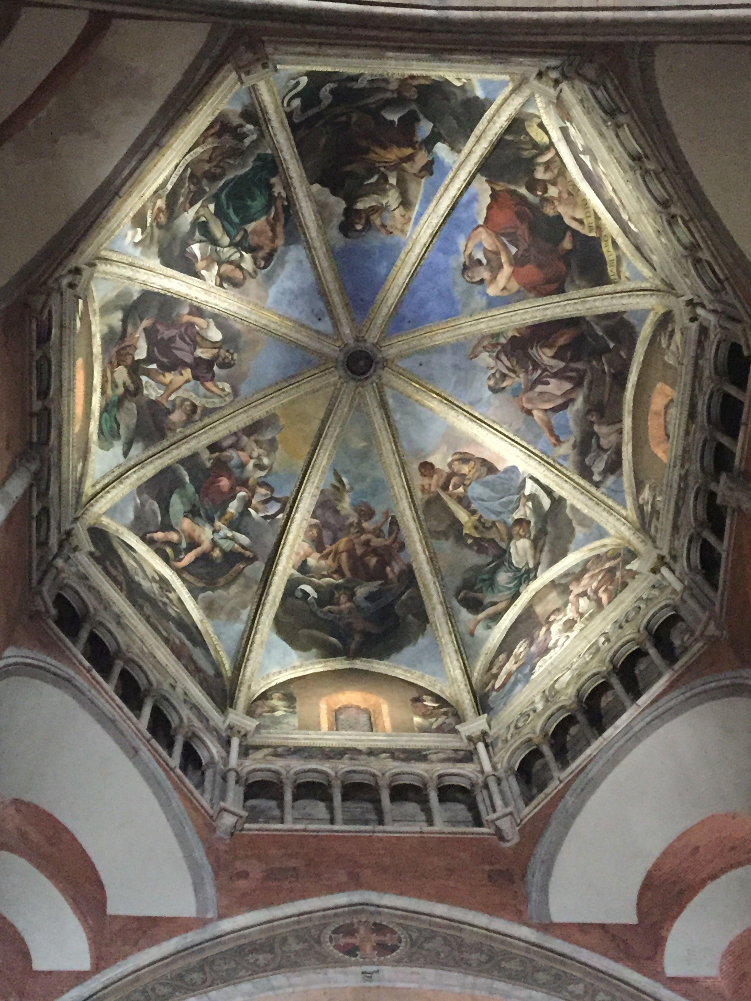 Guercino cupola del duomo di piacenza e mostra a palazzo for Piacenza mostra guercino