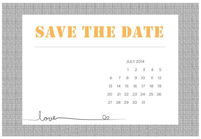 Printable Diy SaveTheDate Templates  Wedding Wedding Stuff