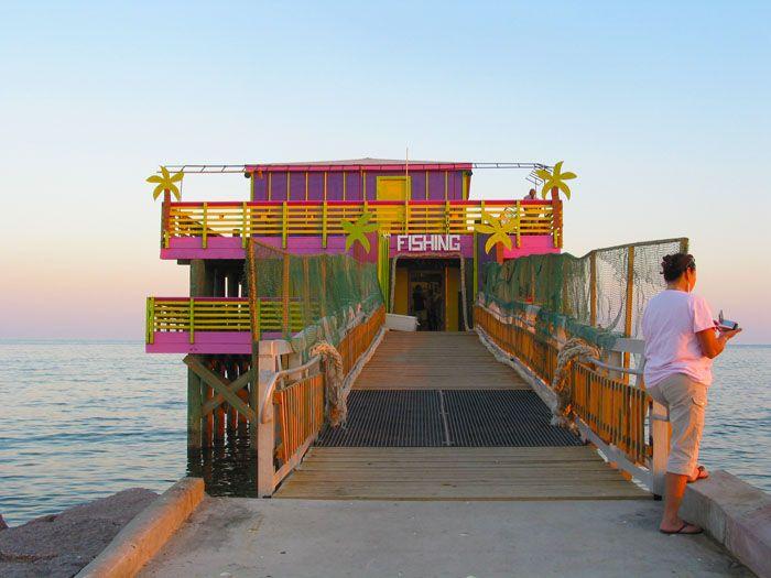 61st Fishing Pier Pier Fishing Galveston Galveston Beach