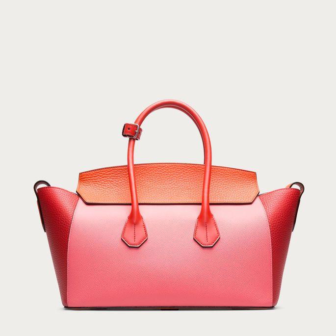 SOMMET MEDIUM Women ́s medium leather tote bag in Pasteque