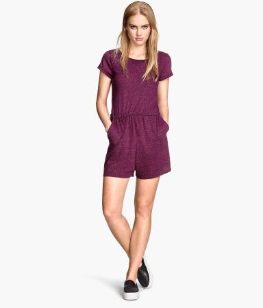 price reduced the latest best cheap H&M Playsuit in jersey €14,99 | fashion | Fashion, H&m ...