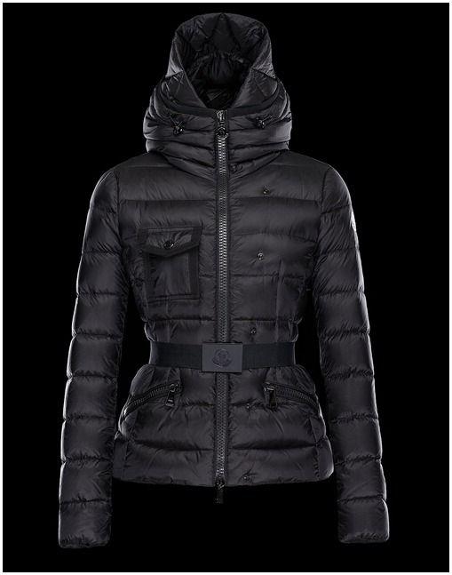 c62e0ed04e4 Doudoune Moncler CHEVERNY manteaux hiver femme hooded noir moncler doudoune  prix