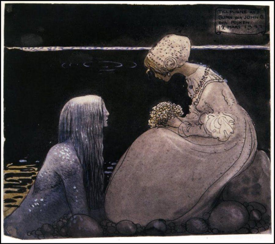 Kelpie and Llyrcorn