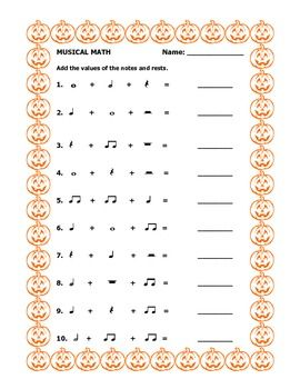 math worksheet : 1000 images about music math on pinterest  music math and note : Musical Math Worksheets