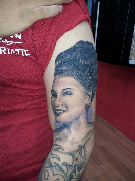 Portait tattoo tattoos by adrian flores at all star for Tattoos san antonio tx