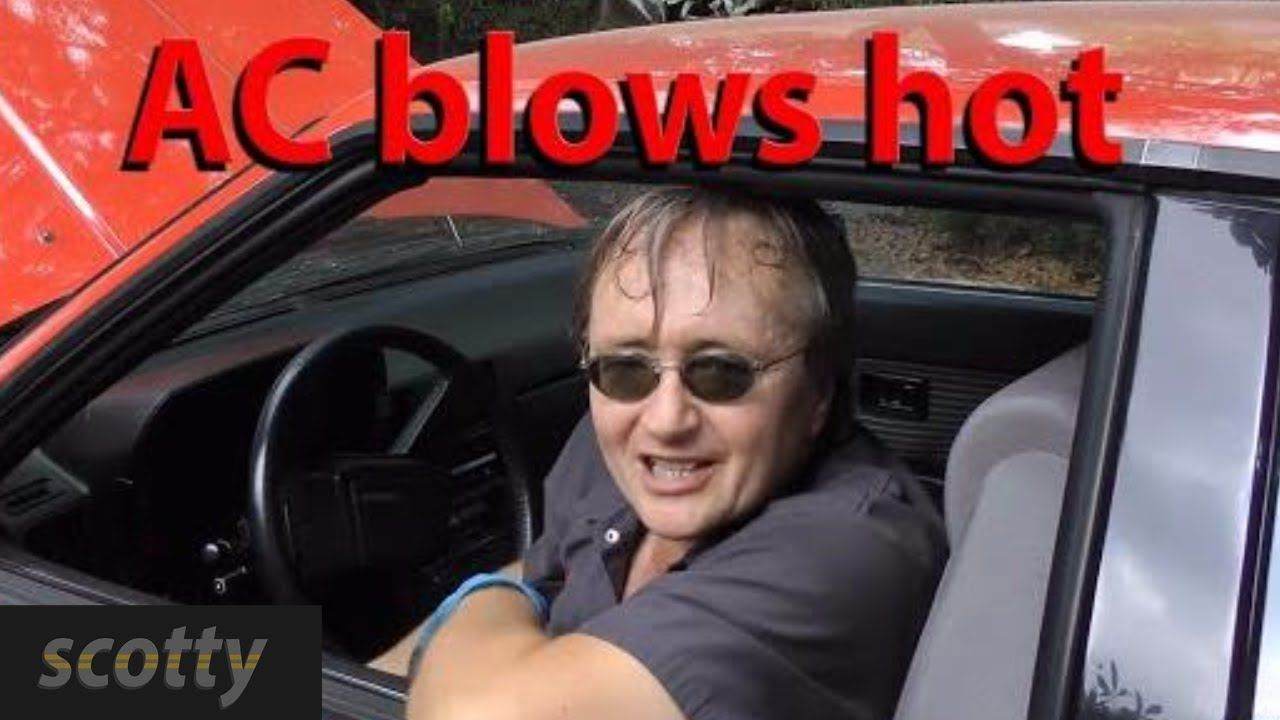 Fixing A Car Air Conditioner That Blows Hot Air YouTube