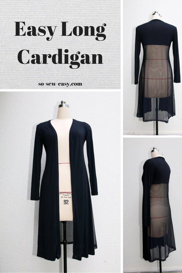 The easy long cardigan a staple in your wardrobe long cardigan super easy long cardigan fast to make and super stylish get it free sizes jeuxipadfo Choice Image