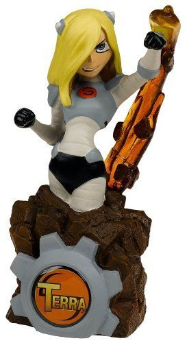Teen Titans - Toys - Terra Paperweight By Monogram 1895 -5911