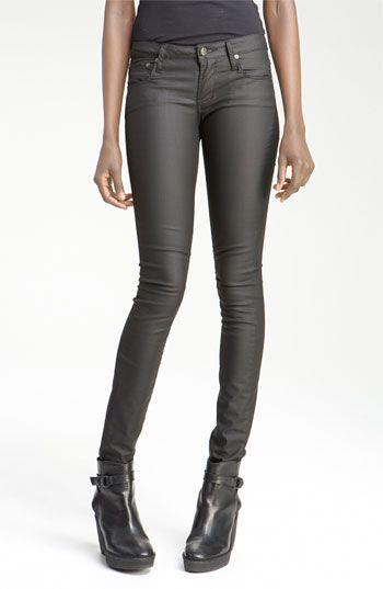 Helmut lang coated skinny jeans