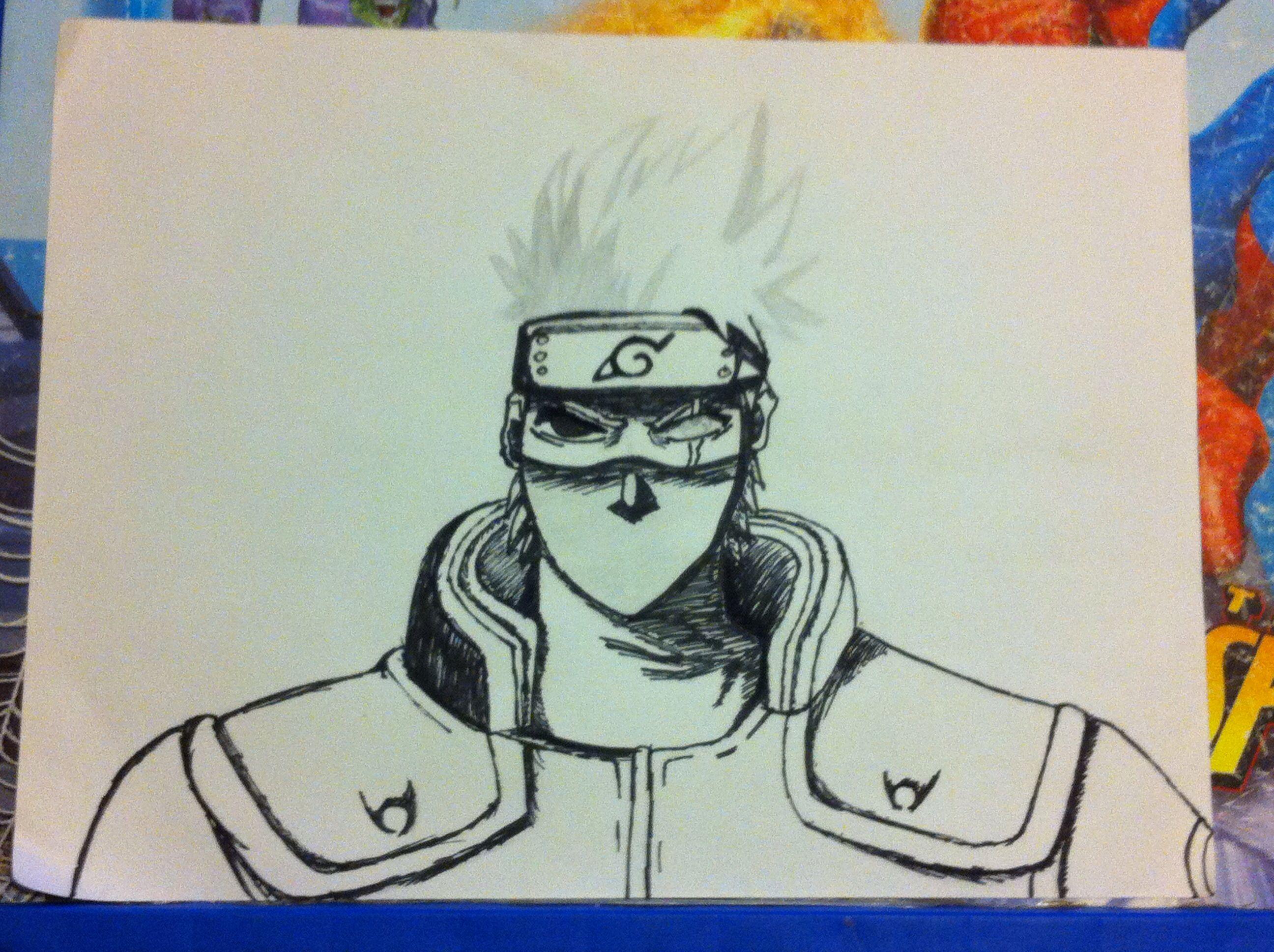Second step!! Naruto drawing