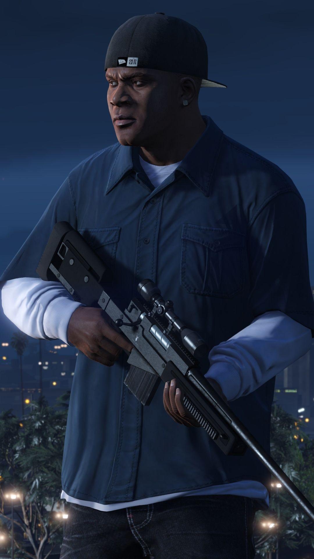 Franklin Gta V Phone Wallpaper In 2020 Gta Gta 5 Grand Theft Auto Artwork