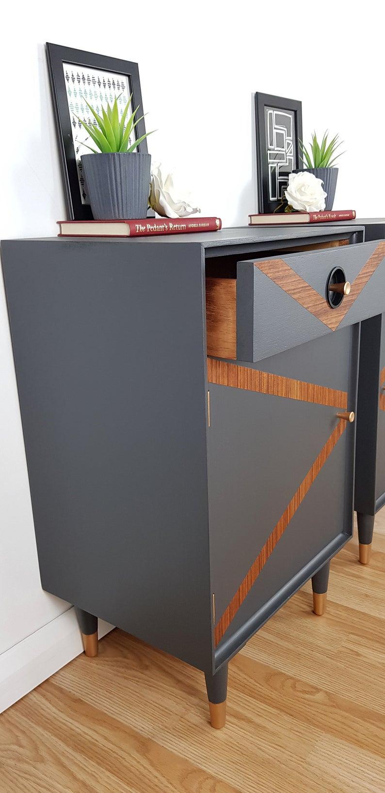 Best Vintage Bedside Cabinets Mid Century Bedside Tables Side 640 x 480