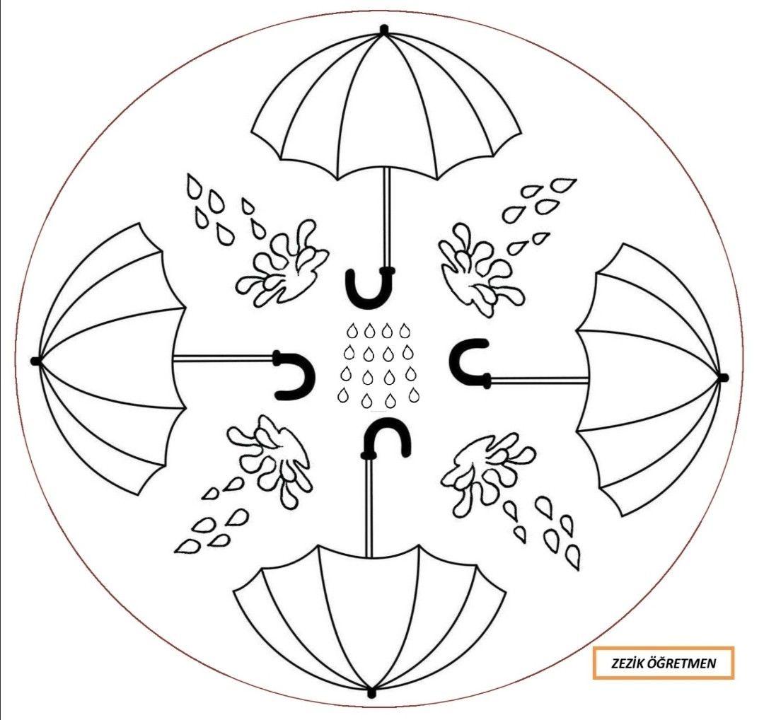 Sonbahar Mandala 2 Mandala Sonbahar Sanat