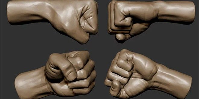 Sculpting-A-Fist-in-Zbrush-by-Isaac-Oster