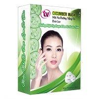 Hộp 7 Miếng Mặt Nạ Dừa Dưỡng Ẩm Chuyên Sâu TV Cucumber Mask TVCM-7