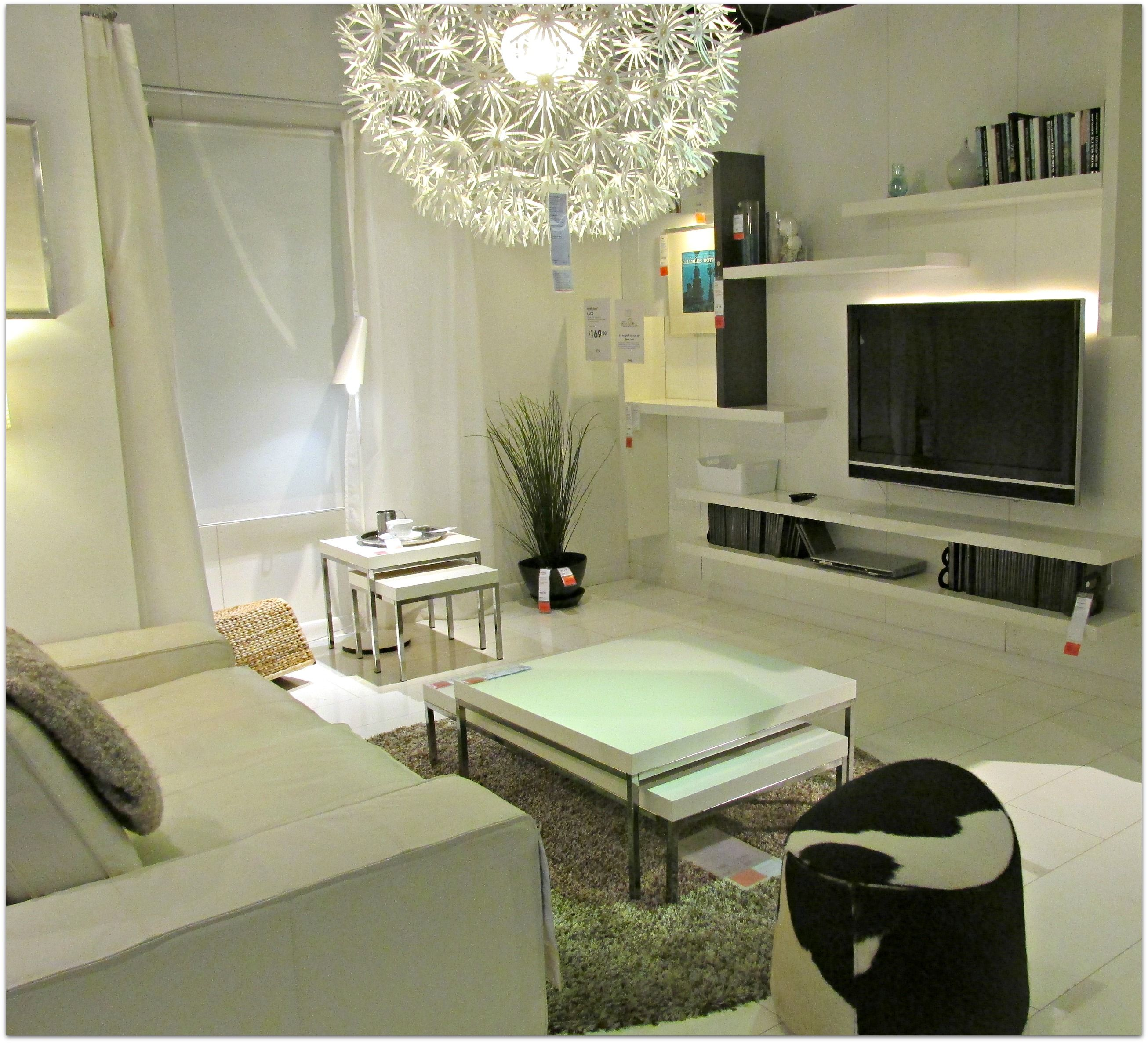 Love The Light Fitting Ikea Living Room