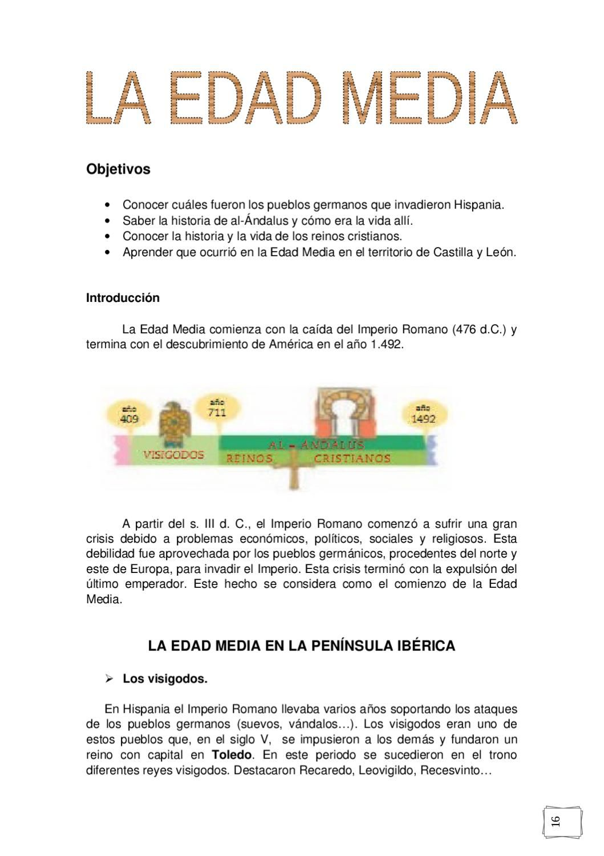La Edad Media Para 5º Nivel Enseñanza De La Historia Edad Media Filosofia Historia
