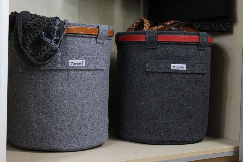 Design Wäschekorb filzkorb sockenkorb wäschekorb spielzeugkorb papierkorb aus filz