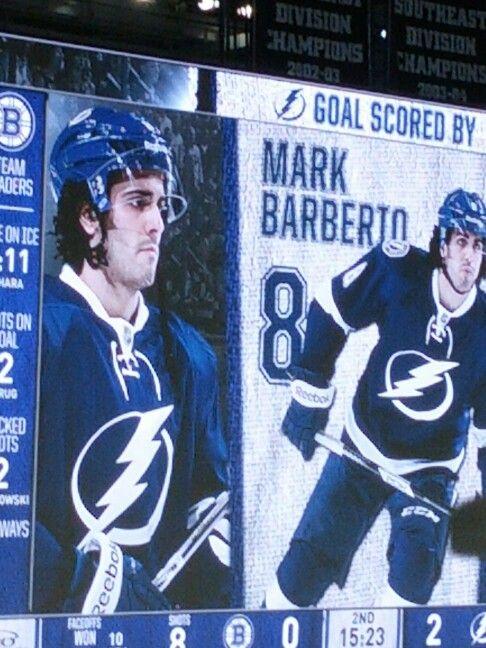 8 Tampa Bay Lightning Mark Barberio Tampa Bay Lightning Tampa Bay Tampa