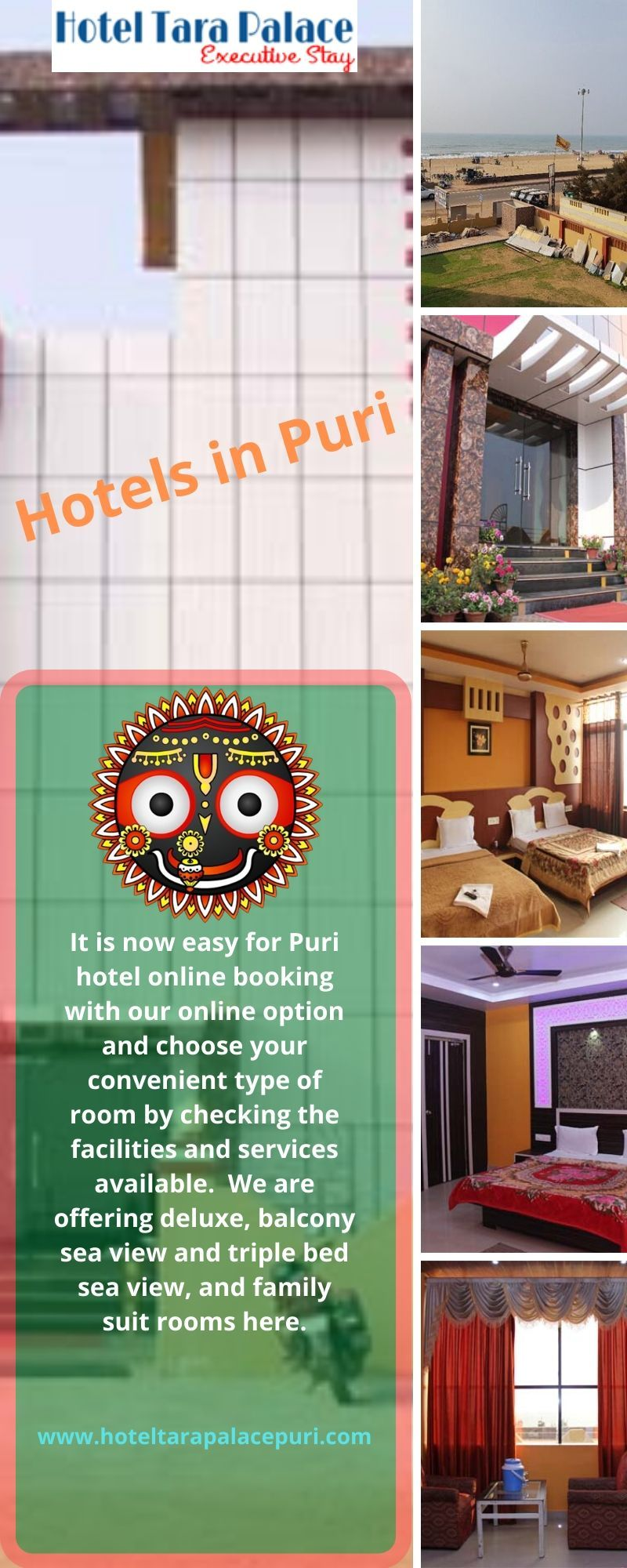 It Is Now Easy For Puri Hotel Online Booking With Our Online