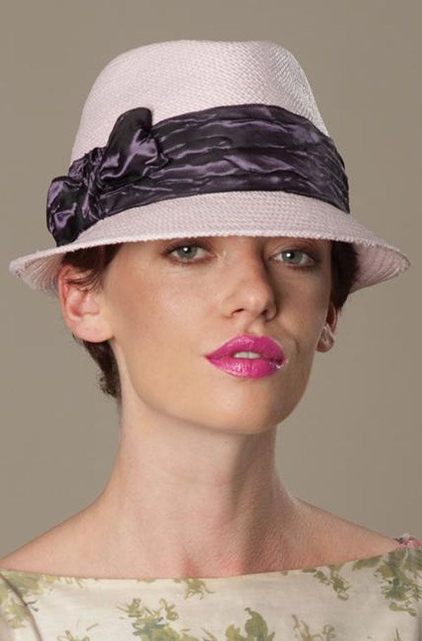 Best Hats for Women With Short Hair IMO - TO READ CLICK HERE: http://boomerinas.com/2013/05/best-hat-styles-for-women-with-short-hair/