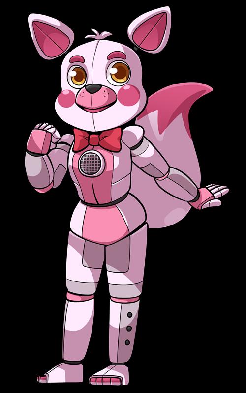 Chibi Funtime Foxy By Soyfrutillademg Cute Stuff Chibi