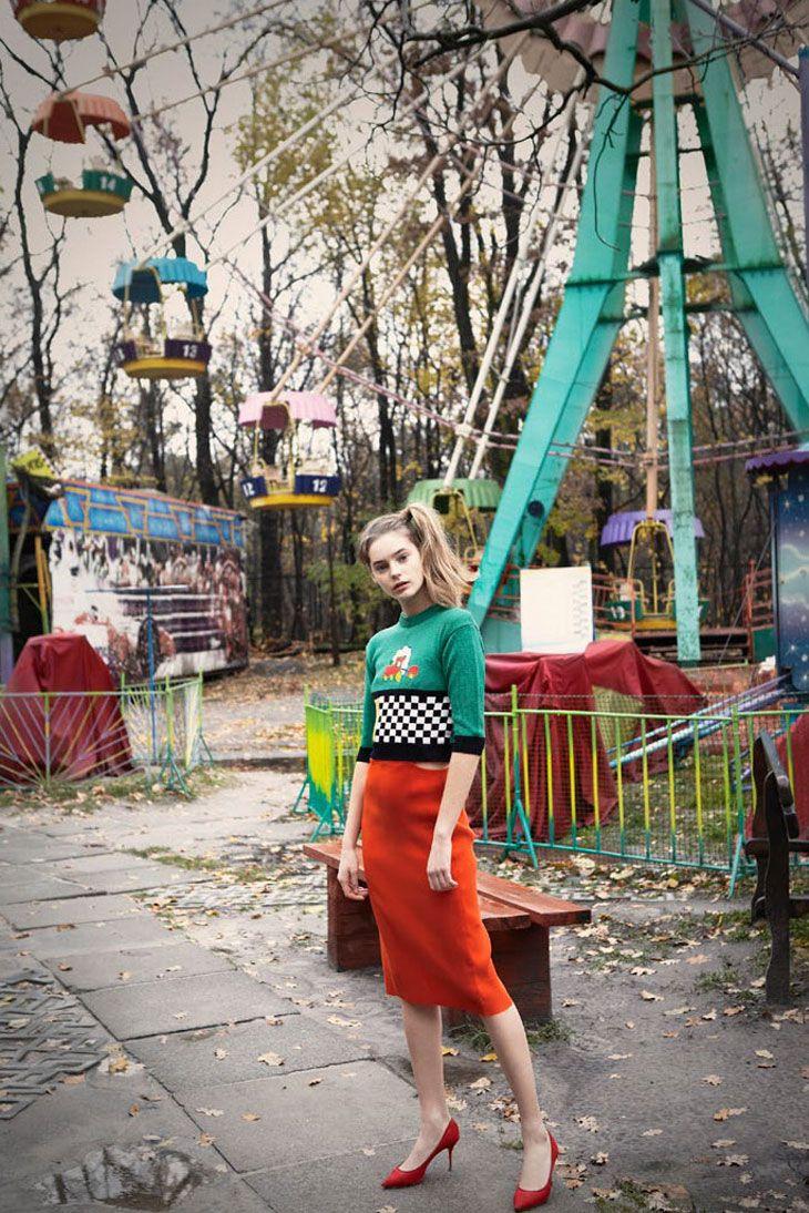 Ukranian Top Models by Yelena Yemchuk for Vogue Ukraine