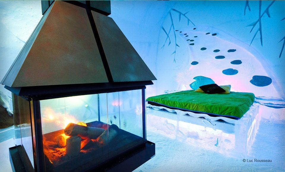ice hotel quebec city...one day I will spend the night in an ice hotel