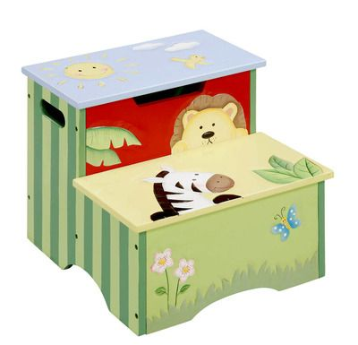 53 99 Teamson Hand Painted Childrens Step Stool Sunny