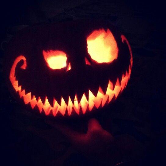 Our halloween pumpkin halloween halloween decorations nightmare before christmas pumpkin - Citrouille effrayante ...
