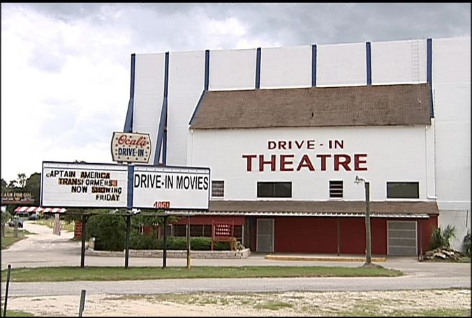see a movie at the ocala drive in been there done that cool
