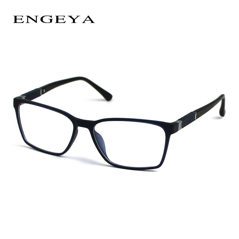 d81a3d39d9a2 ENGEYA Brand TR90 Retro Optical Eyeglasses Frame Myopia Eyewear Designer  Eye Glasses Frames For Men 3