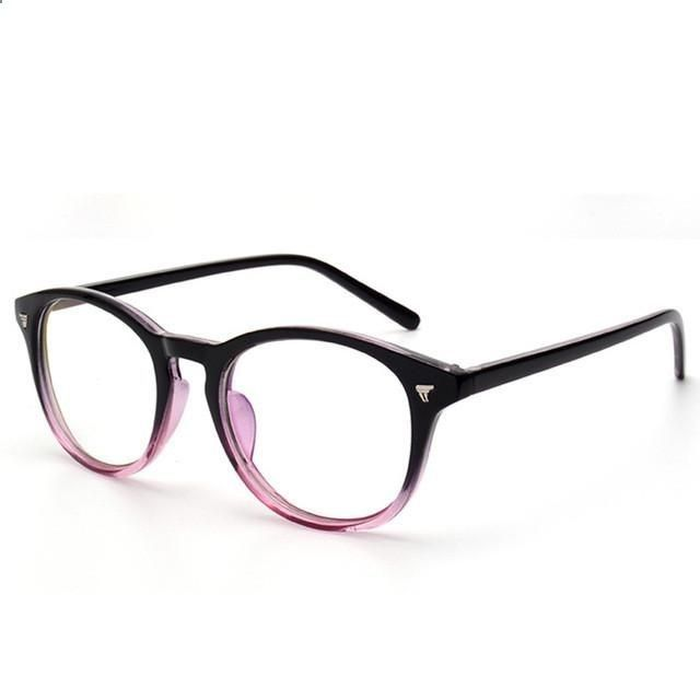 36d86db8d43 Vintage Eyeglasses Frame Women Computer Optical Glasses Spectacle Retro For  Womens Transparent Female Armacao Oculos de. Prada ...