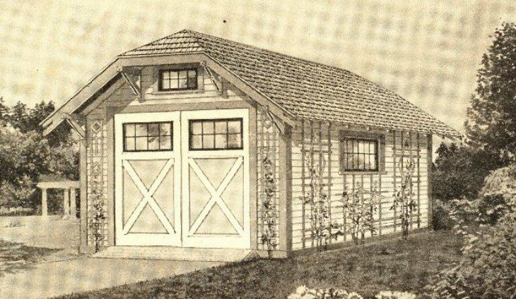 Sears Also Offered Kit Garages Dutch Colonial Homes