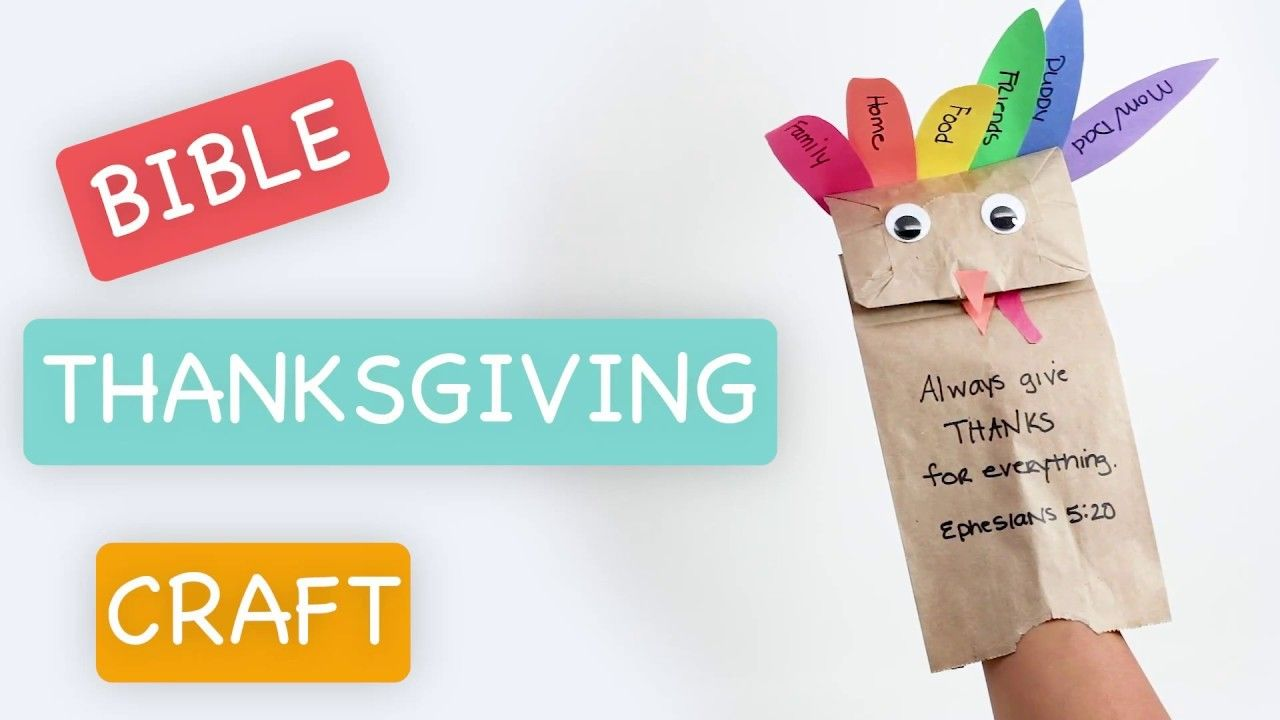 Easy Kids Thanksgiving Turkey Craft - Bible Time | Crafts for Kids ...
